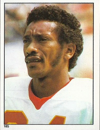 Lemar Parrish 1981 Topps Stickers