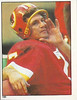 Joe Theismann 1981 Topps Stickers