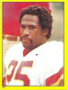Joe Washington 1982 Topps Stickers