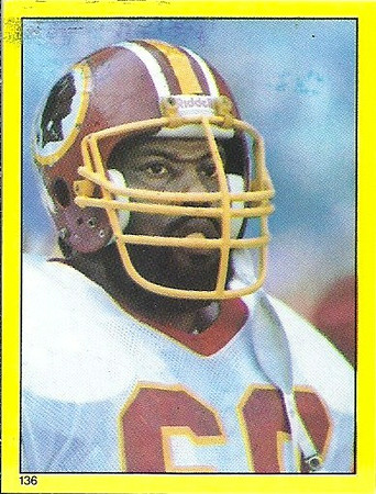 Perry Brooks 1982 Topps Stickers