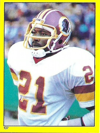 Mike Nelms 1982 Topps Stickers