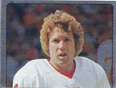 Mark Moseley 1983 Topps Stickers