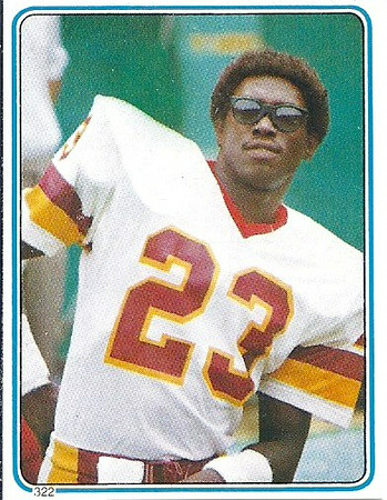 Tony Peters 1983 Topps Stickers