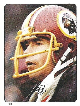 John Riggins 1983 Topps Stickers