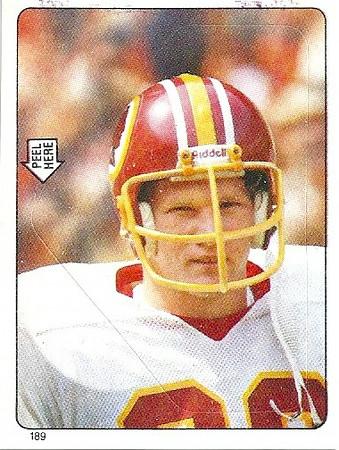 Mark Murphy 1983 Topps Stickers