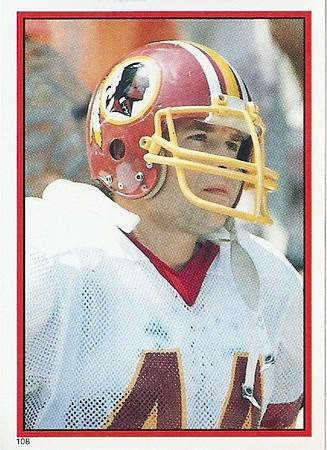 John Riggins 1984 Topps Stickers