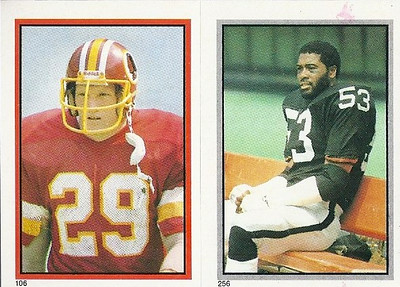 Mark Murphy 1984 Topps Stickers