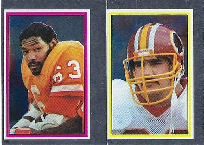 Russ Grimm 1984 Topps Stickers