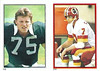 Joe Theismann 1985 Topps Stickers