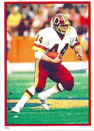 John Riggins 1985 Topps Stickers