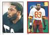 Calvin Muhammad 1985 Topps Stickers