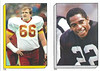 Joe Jacoby 1986 Topps Stickers