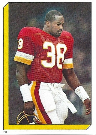 George Rogers 1986 Topps Stickers