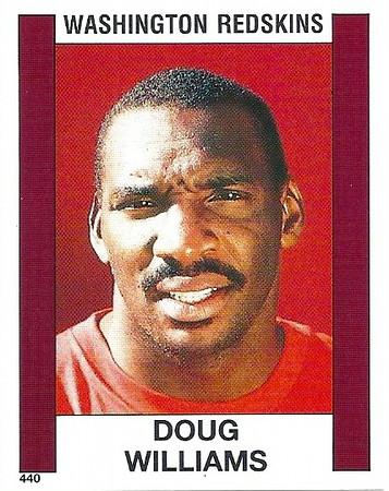 Doug Williams 1988 Panini Stickers