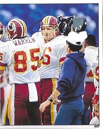 #447 Super Bowl XXII 1988 Panini