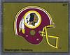 Redskins Helmet Foil 1988 Panini Stickers