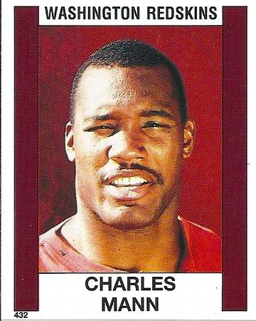 Charles Mann 1988 Panini Stickers