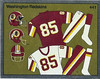 Redskins Uniforms 1988 Panini Stickers