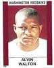 Alvin Walton 1988 Panini Stickers
