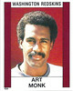 Art Monk 1988 Panini Stickers
