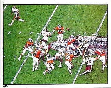 #445 Super Bowl XXII 1988 Panini