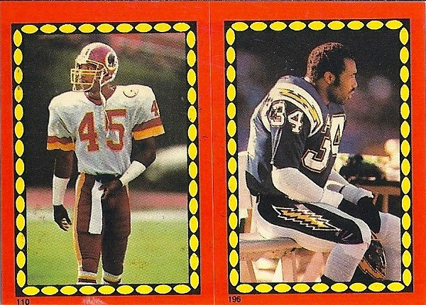 Barry Wilburn 1988 Topps Stickers
