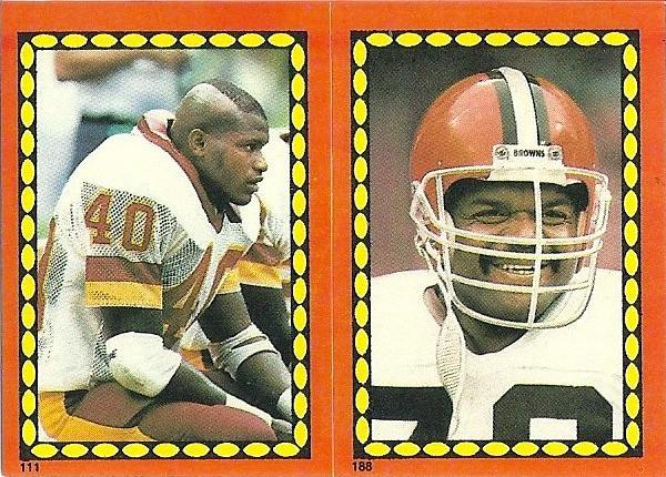 Alvin Walton 1988 Topps Stickers