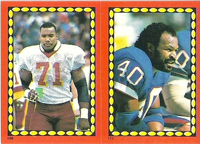 Charles Mann 1988 Topps Stickers
