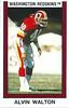 Alvin Walton 1989 Panini Stickers