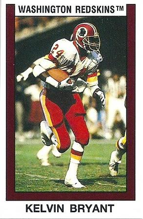 Kelvin Bryant 1989 Panini Stickers