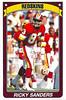 Ricky Sanders 1990 Panini Stickers