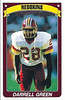 Darrell Green 1990 Panini Stickers