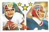 77 Mark Rypien 1992 Diamond Stickers