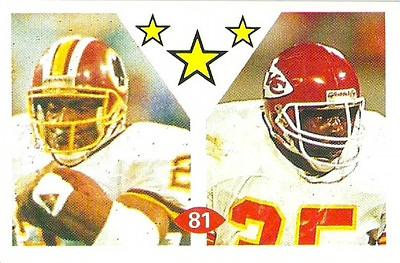 Earnest Byner 1992 Diamond Stickers