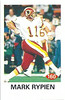 160 Mark Rypien 1992 Diamond Stickers