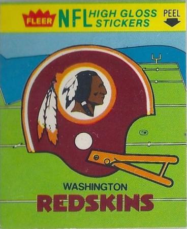 1981 Helmet Fleer Team Action Stickers