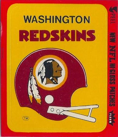 1978 Helmet Fleer Team Action Stickers
