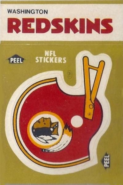 1983 Helmet Fleer Team Action Stickers