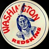 1950s Redskins Logo Sticker