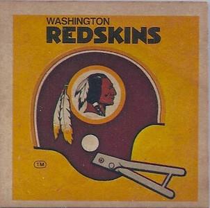 1977 Sunbeam Bread Redskins Helmet Sticker