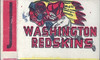 1961 Topps Flocked Stickers Redskins