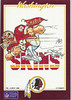 1989 U-Seal-It Redskins Cartoon Sticker