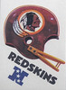 1983 Kellogg's Game Redskins Helmet Sticker