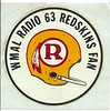1970 WMAL Redskins Helmet Decal