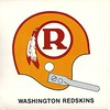 1970 Redskins Helmet Sticker