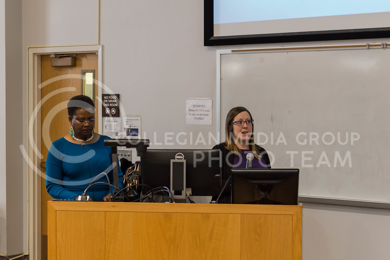 Sticks and Stones: Words CAN Hurt. A Kat Chat presented by Counseling Services and the Student Access Center centered their discussion on the topic of ableism. (Mary Kate Zach | Collegian Media Group)