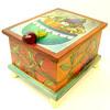 BOX-006 Recipe Box - Eggplant