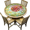 DIN-034-48 Inch Table & Four Chairs_2038366317_o