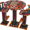 Sticks®© Table GAM040 with Pedestal Chairs (non swival) STL011 -S3_00000073