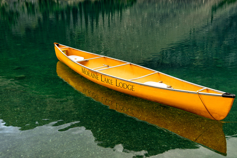 Moraine Lake Lodge Canoe